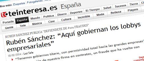 Entrevista sobre DEFIÉNDETE de #101fraudes en Teinteresa.es