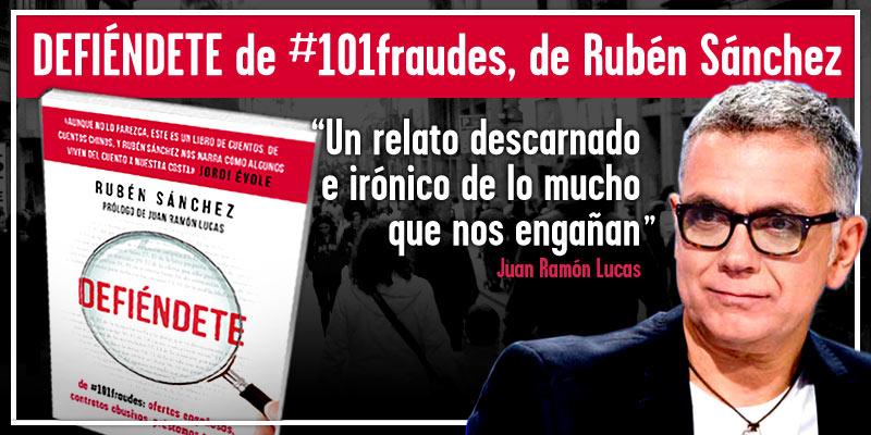 Presentación en Madrid de DEFIÉNDETE de #101fraudes el 25 de febrero