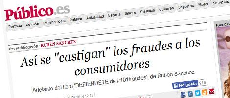 Publico.es adelanta uno de los fraudes de DEFIÉNDETE: el de la multa más alta