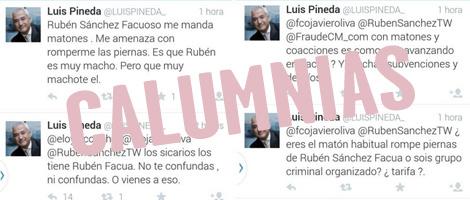 Voy a presentar una querella por injurias y calumnias contra Luis Pineda, de Ausbanc